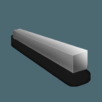 Алюминиевый квадрат 20х20 1