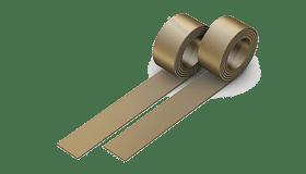 Бронзовая лента толщина 0.5 мм 1
