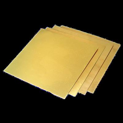 Лист латунный 3,5х600х1500 мм Л63 твердый 1