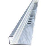 Профиль из нержавеющей стали для плитки