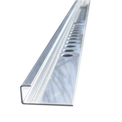 L образный профиль из нержавеющей стали 24х8мм, длина 2,7м 1