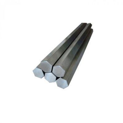 Шестигранник нержавеющий (пруток) 50,0х4200 мм. AISI 304 1